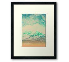 Blured Mountains II Framed Print