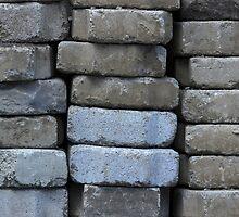 Gray Concrete Bricks by rhamm