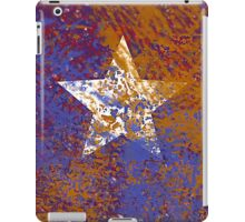Rustic Star in Red, White, and Blue iPad Case/Skin