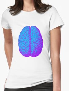 Psychedelic Brain Womens Fitted T-Shirt