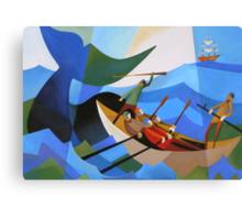 TASMANIAN WHALERS Canvas Print