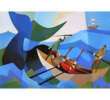 TASMANIAN WHALERS Photographic Print