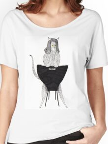 Sexy Cat Women's Relaxed Fit T-Shirt