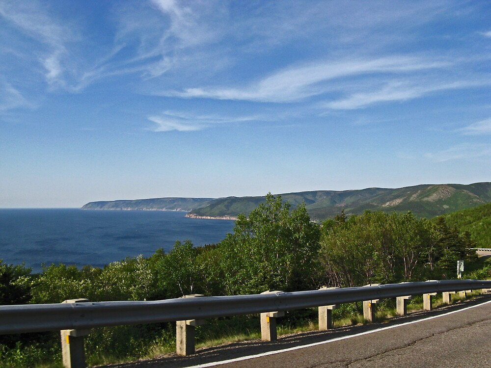 Cabot Trail 3 by Cameron  Allen Lamond