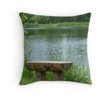 Peaceful Place Of Mine Throw Pillow
