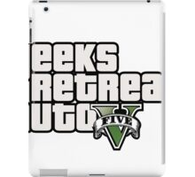 Geeks Retreat Auto iPad Case/Skin