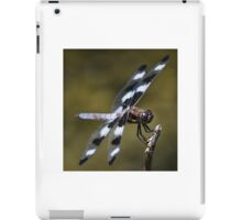 Twelve-spotted Skimmer iPad Case/Skin