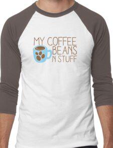 My Coffee beans n stuff Men's Baseball ¾ T-Shirt