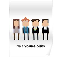 The Young Ones Mini-figure  Poster