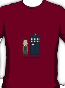 Dr Who Mini-figure  T-Shirt