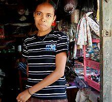 Shop owner by Arzenia by Friends  of Suai