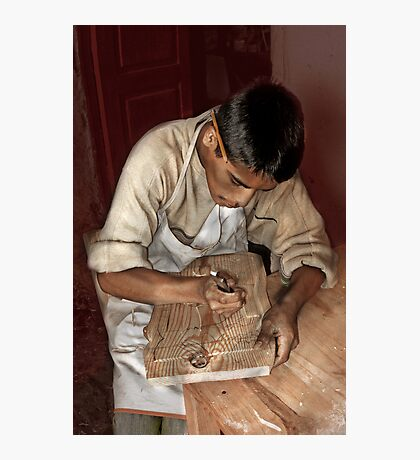 Woodworker Photographic Print