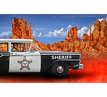 Sheriff Photographic Print