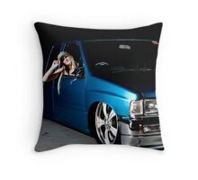 Low-Lux Throw Pillow