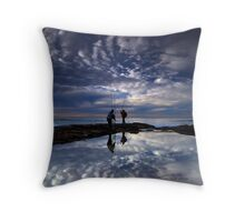 Fishing for Angels, Cronulla NSW Throw Pillow