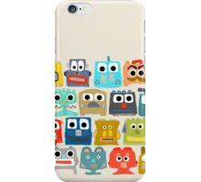 summer baby robots iPhone Case/Skin