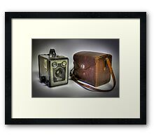 Kodak Six-20 Brownie Framed Print