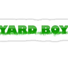 Yard Boy Sticker