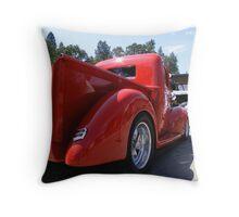 Nice Rear.... Throw Pillow