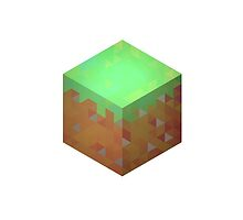 Minecraft Block - Transparent by ironmisk