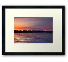 Isle LaMotte Vermont Framed Print