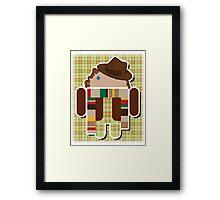 Dr. Whodroid Framed Print