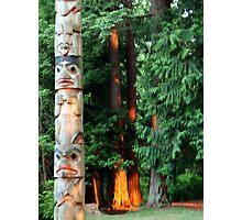 Northwest Totem Pole Photographic Print