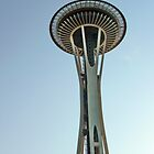 Space Needle - Day by Tamara Valjean