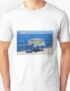 Taverna table, Nisyros Unisex T-Shirt