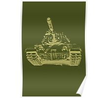 Army Tank 2 Poster