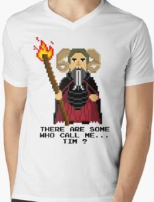 Tim the Enchanter - Monty Python and the Holy Pixel Mens V-Neck T-Shirt