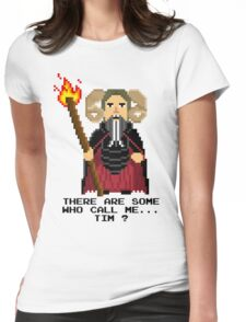 Tim the Enchanter - Monty Python and the Holy Pixel Womens Fitted T-Shirt