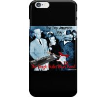 The Single Bullet Blues Band iPhone Case/Skin