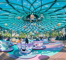 The Mad Hatter's TeaCups by ThatDisneyLover