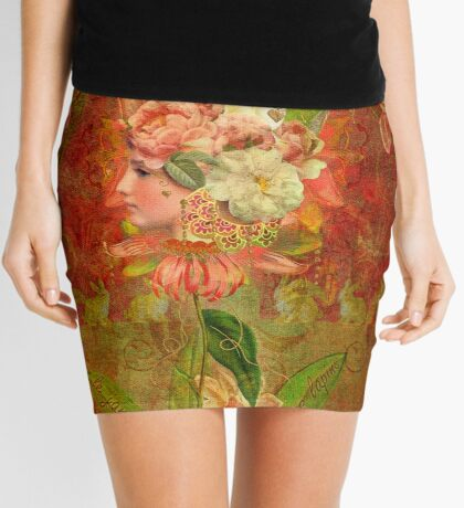 Le Jardin Des Lapins Mini Skirt