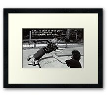 A Childs Trust Framed Print