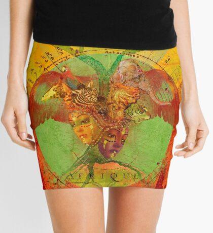 Afrique Mini Skirt