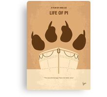 No173 My Life of Pi minimal movie poster Canvas Print
