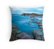 Virtual Corridors Throw Pillow