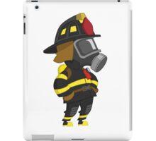 Firefighter arms akimbo iPad Case/Skin