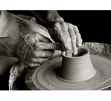 Artisan's Hands Photographic Print