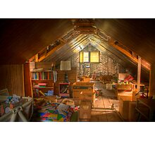 This old attic.... Photographic Print