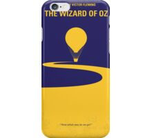 No177 My Wizard of Oz minimal movie poster iPhone Case/Skin