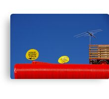 You Parked On The ROOF Of The Pub? Canvas Print