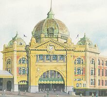 Flinders Street Station by IanB