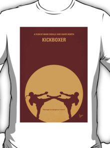 No178 My Kickboxer minimal movie poster T-Shirt