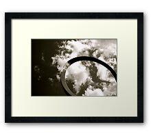Cloud Bend Framed Print