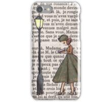 Paris, 1959 - Patrice Reads Obsessively iPhone Case/Skin