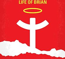 No182 My Monty Python Life of brian minimal movie poster by JiLong