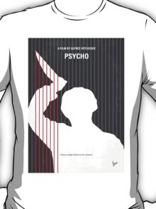 No185 My Psycho minimal movie poster T-Shirt